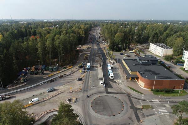 Kuva Oulunkylän alueesta.