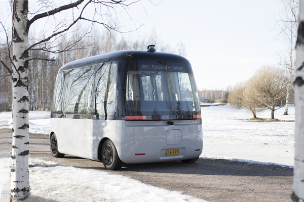 ce5f84a6995 Muji and Sensible 4 debut Gacha, the first all-weather autonomous-driving  bus in Helsinki