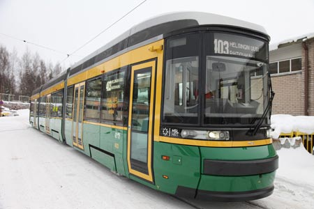 New Artic-tram. Photo: Helsinki City Transport