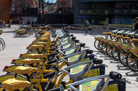 City bikes will be back 2 May.