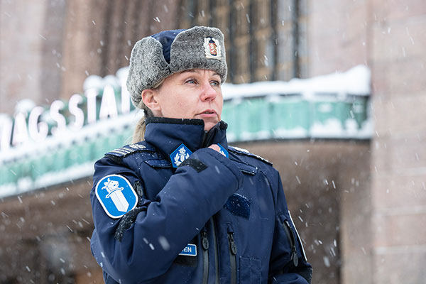 Komisario Katja Nissinen.