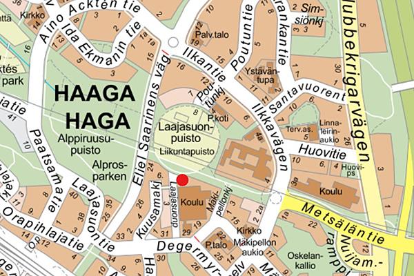 Pohjois Haagan Ala Asteen Vaistotilat Makipellontien Toimipisteen