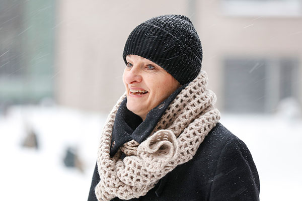 Helsingfors stads chef för bostadsprogrammet Mari Randell.
