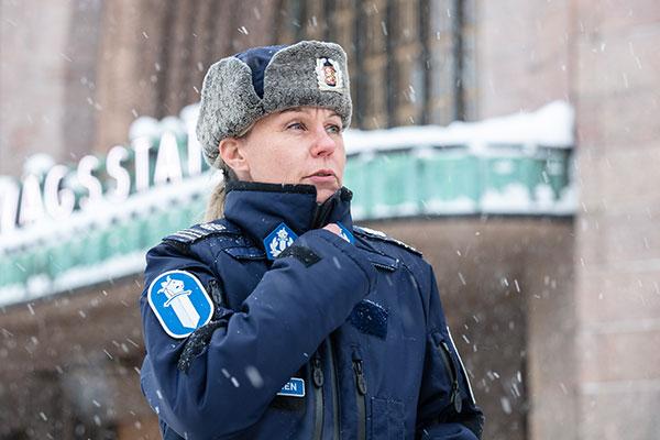 Kommissarie Katja Nissinen.