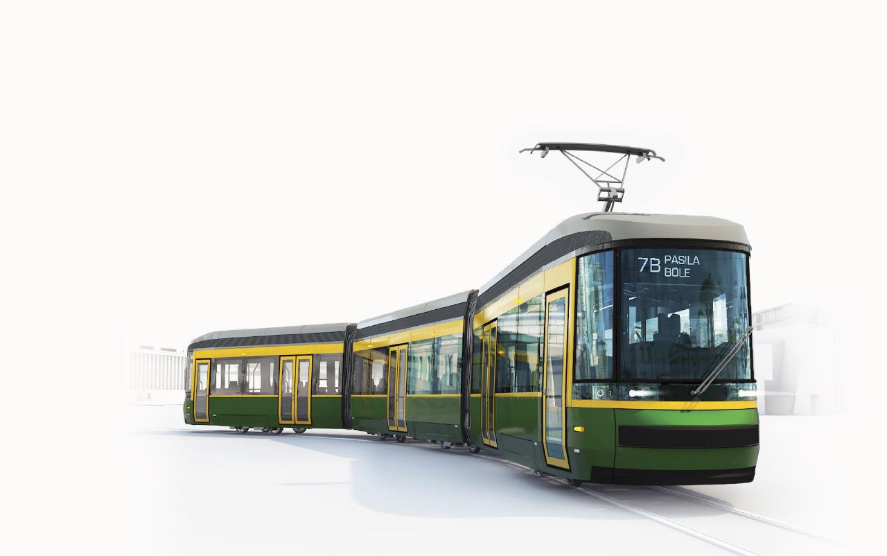 Raitiovaunu 3 Uusi Reitti