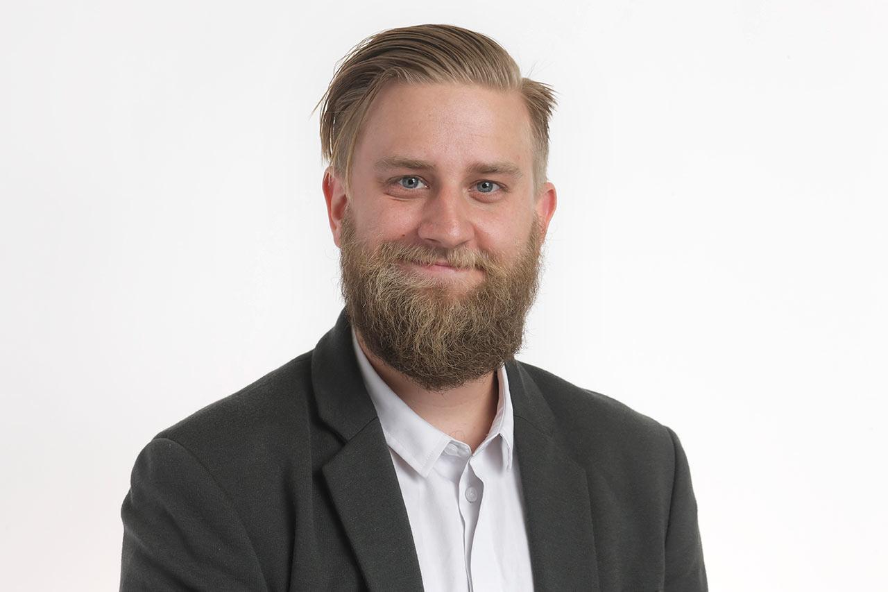 Joel Harkimo  Kuva: Pertti Nisonen / Helsingin kaupunki