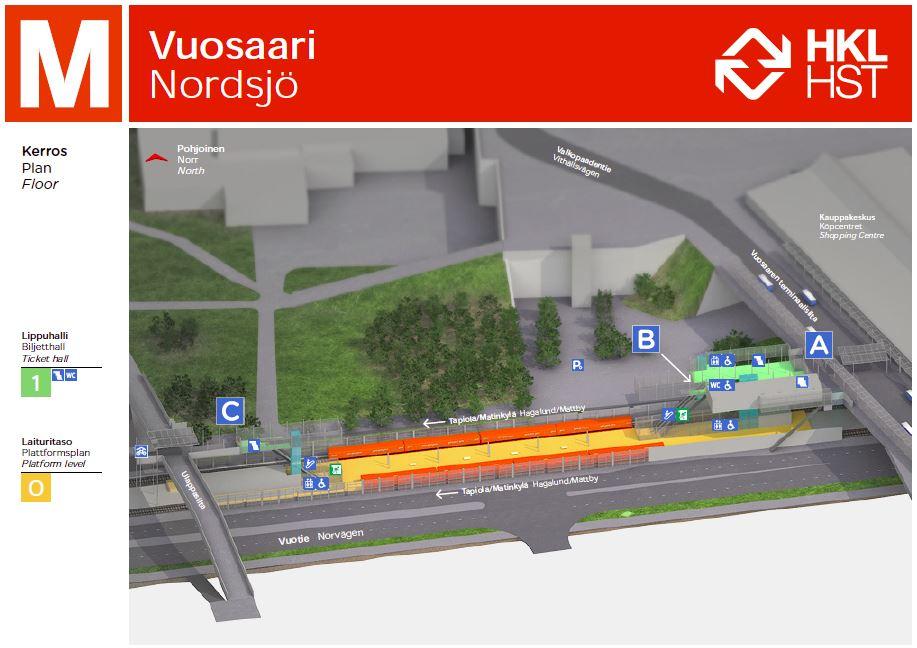 Metro Liityntäpysäköinti