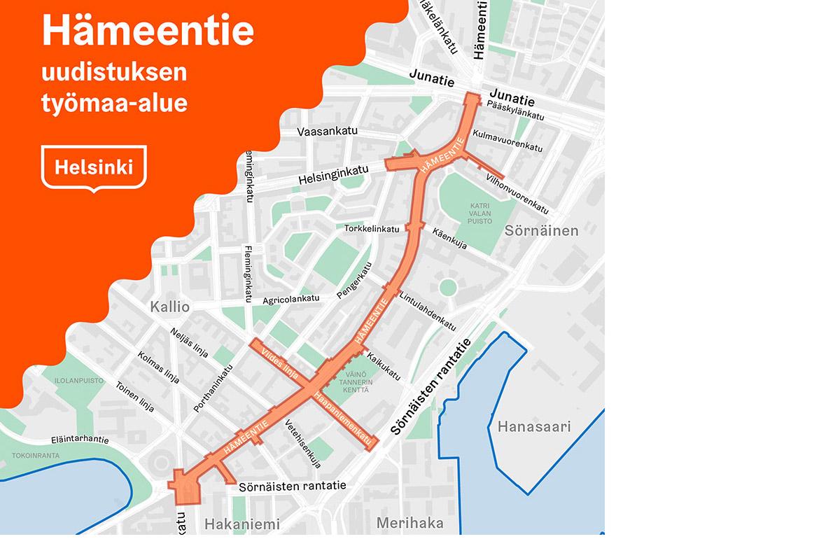 Hameentien Uudistus Helsingin Kaupunki