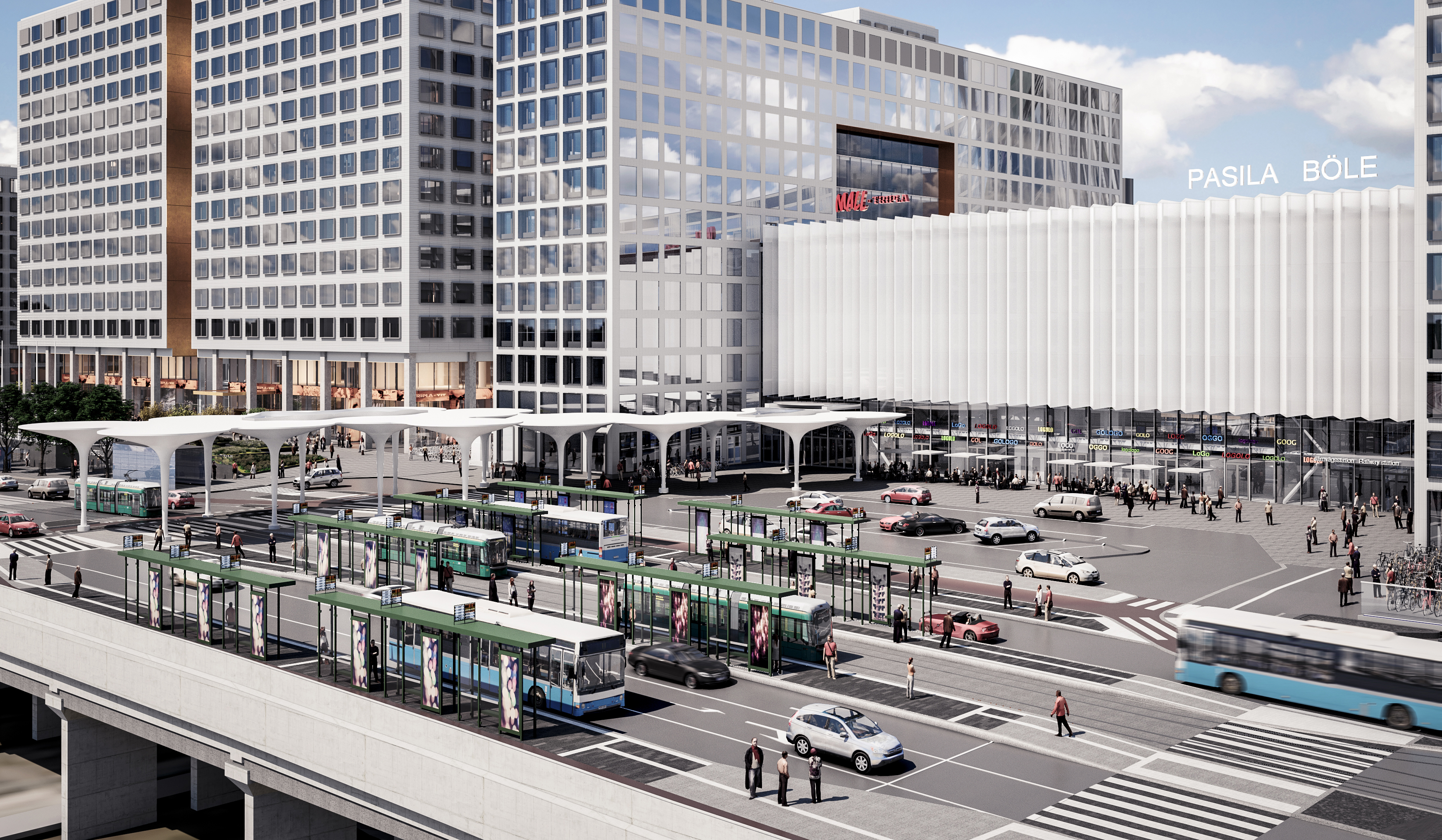 Public transport terminal to go under construction in Pasila