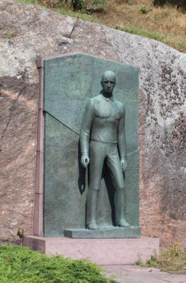 Viktor Jansson: Arvid Mörne, 1951. Et voi käyttää kuvaa kaupallisiin tarkoituksiin. © Kuva: Helsingin taidemuseo / Hanna Kukorelli
