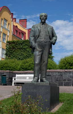 Aimo Tukiainen: Juhani Aho, 1961. Du får inte använda foto i kommersiellt syfte. © Foto: Helsingfors konstmuseum / Maija Toivanen