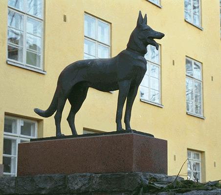Emil Cedercreutz: Pekka-koira, 1934. Et voi käyttää kuvaa kaupallisiin tarkoituksiin. © Kuva: Helsingin taidemuseo
