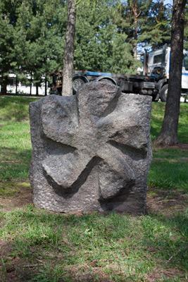Olli Salo: Rör- och propellerskulpturer, 1998. Du får inte använda foto i kommersiellt syfte. © Foto: Helsingfors konstmuseum / Maija Toivanen