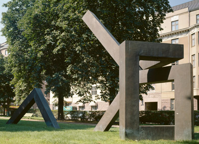 Veikko Myller: Memorial to Risto Ryti, 1994. You may not use this photo for commercial purposes. © Photo: Helsinki Art Museum / Yehia Eweis
