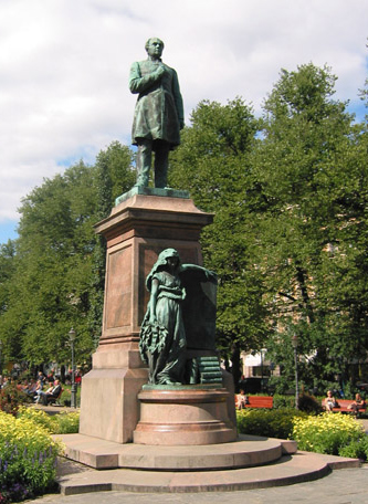 Walter Runeberg: Johan Ludvig Runeberg's memorial, 1885. You may not use this photo for commercial purposes. © Photo: Helsinki Art Museum
