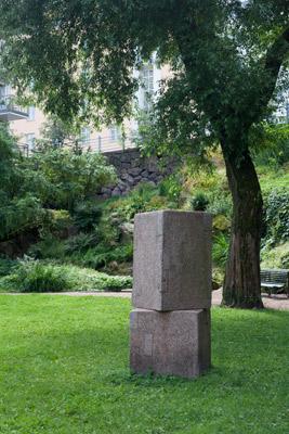 Kain Tapper: Tauno Palon muistomerkki, 1993. Et voi käyttää kuvaa kaupallisiin tarkoituksiin. © Kuva: Helsingin taidemuseo / Maija Toivanen