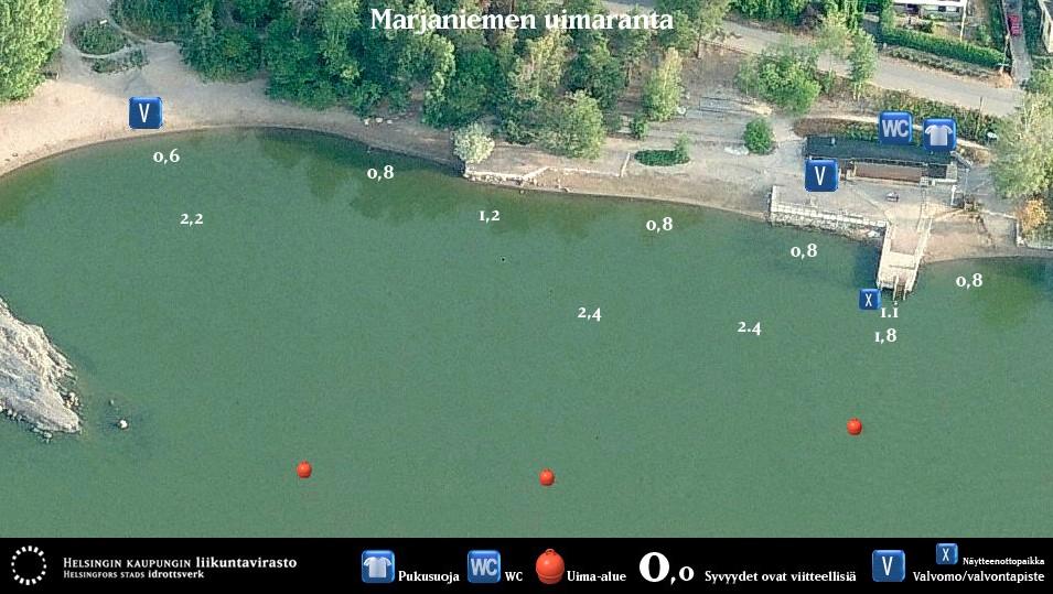 marjaniemen uimaranta