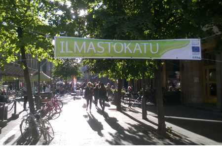 "During ""6Aika"" Iso Roobertinkatu has been a piloting area for smart and clean technologies and services in the city centre."