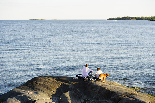 Helsinki has a variety of recreational parks around the city and by the sea, foto: City of Helsinki