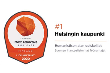 Helsinki ranked first in the humanities category