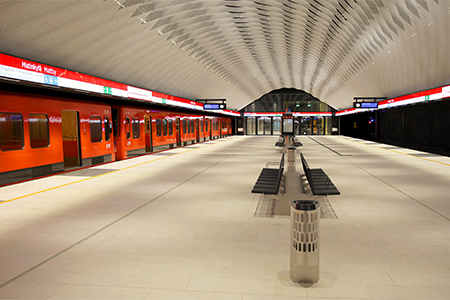 Matinkylä metrostation Photo: HKL
