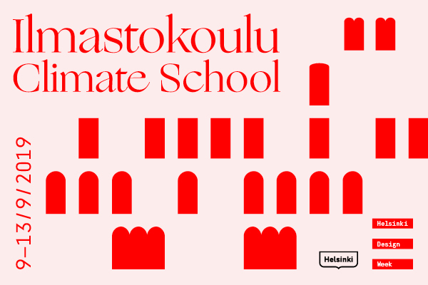 Photo: Helsinki Design Week, Climate School