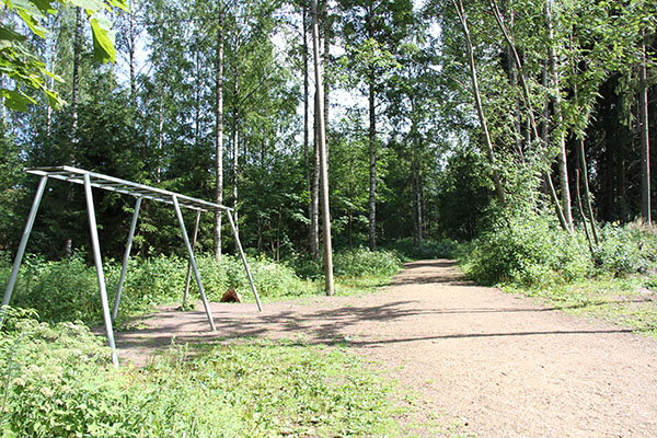 Puistola sports park jogging track, foto: City of Helsinki