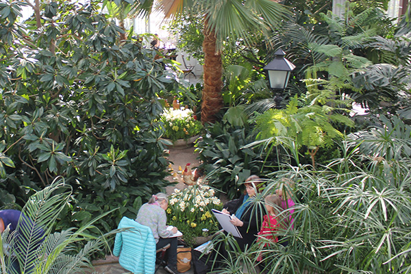 Winter Garden is a great place to enjoy Easter. Photo: Mika Lappalainen