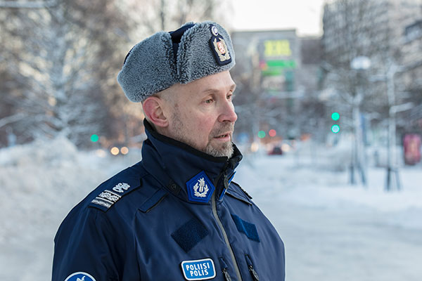 Superintendent Jari Taponen heads the Preventive Policing Unit.