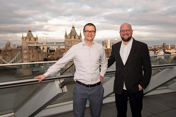 Chief Digital Officers of Helsinki and London: Mikko Rusama and Theo Blackwell. Picture: Greater London Authority