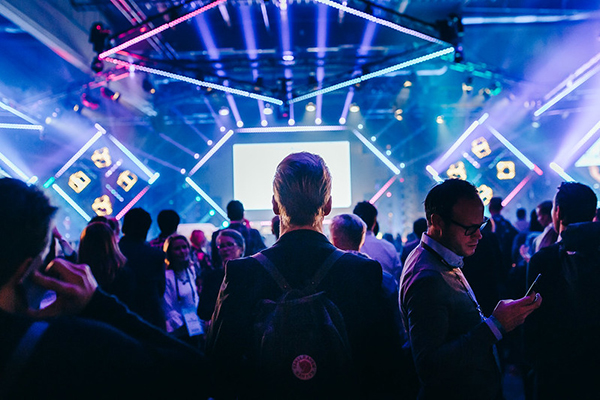 Picture from Slush 2019. Source: Slush Material Bank.