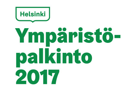 City of Helsinki Environmental Award logo