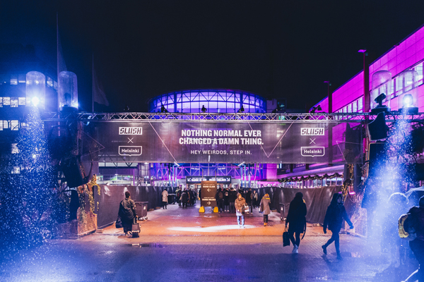 Slush has drawn global attention with its marketing efforts, which have gone viral. (Photo: Petri Anttila)