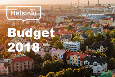 Mayor's budget proposal published. Photo: Jussi Hellsten.