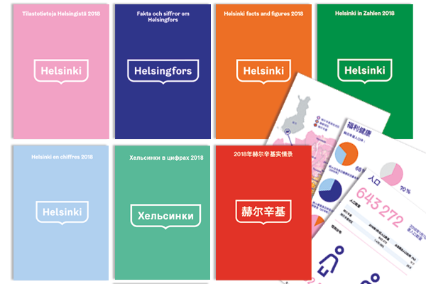 Illustration: Language version covers