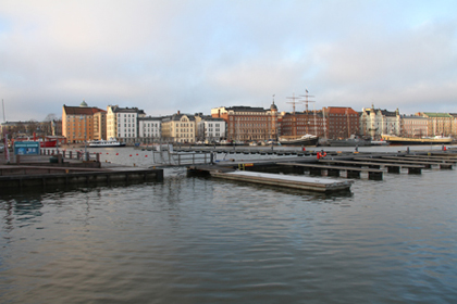 Guest harbour of Katajanokka