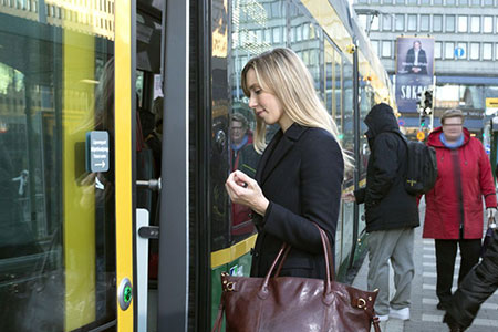 From the beginning of February 2018, tram drivers will no longer sell tickets.