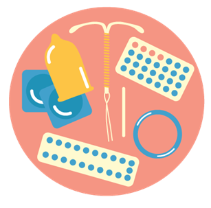 You can get help with choosing a birth control method during a visit to a maternity and child health clinic, at your own heath station, or at the centralised contraceptive advice service.