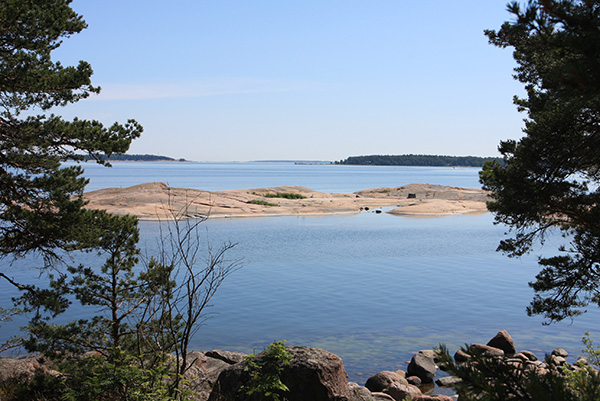 There are three islands in the Käärmeluoto group: north, west and east, foto: City of Helsinki