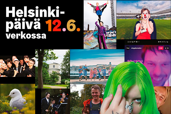 Helsinki Day  online on Friday 12 June.