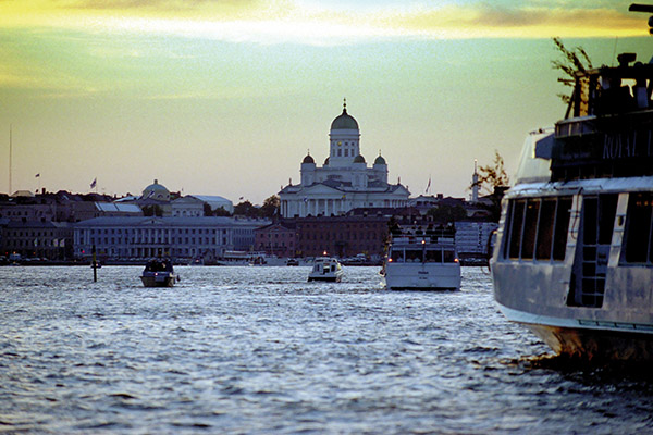 Helsinki from the Sea. Photo: Paul Williams.
