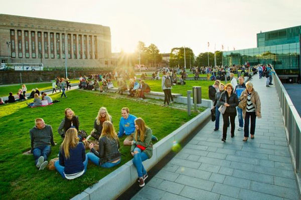 Children at a concert. Photo: Lauri Rotko / City of Helsinki