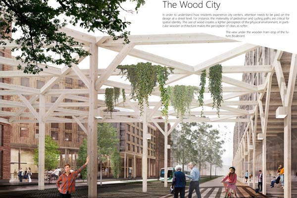 Proposal: The Wood City